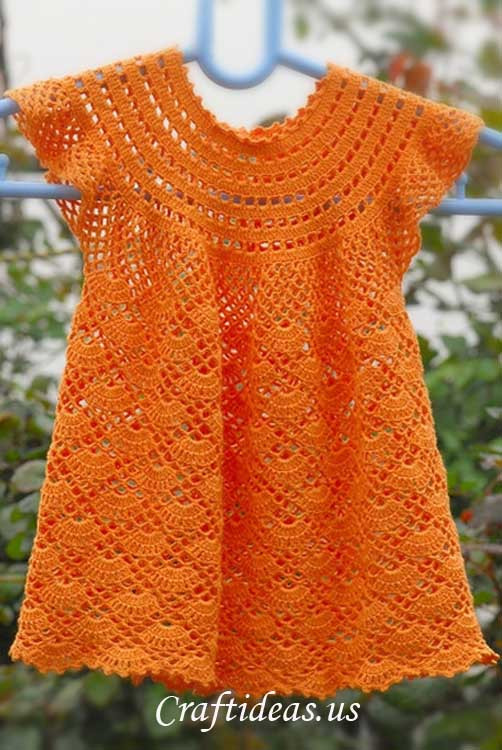 Elegant 16 Patterns for Cute Crochet Girls Dresses Crochet Girl Dress Of Awesome 46 Images Crochet Girl Dress