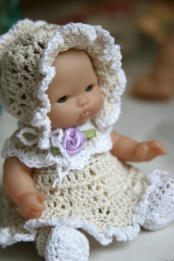 Elegant 17 Best Images About Berenguer Baby Dolls 5 Inches On Crochet Baby Doll Of Wonderful 48 Photos Crochet Baby Doll