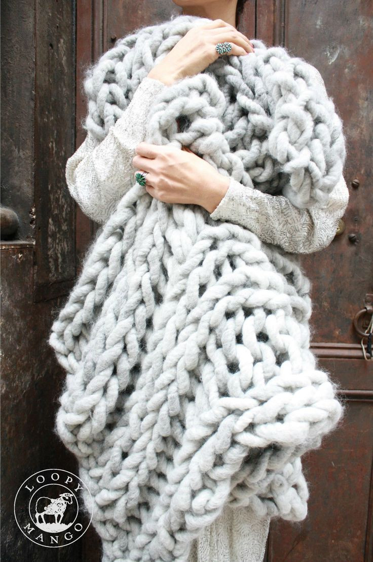 Elegant 17 Best Images About Crochet and Knit Chunky Yarn On Oversized Yarn Blanket Of Amazing 46 Models Oversized Yarn Blanket