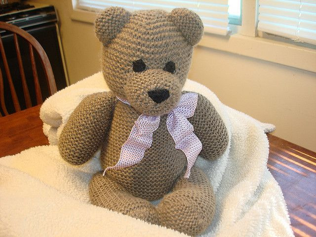 Elegant 17 Best Images About Knitted & Crochet Teddy Bears On Knitted Bear Pattern Of Brilliant 42 Photos Knitted Bear Pattern