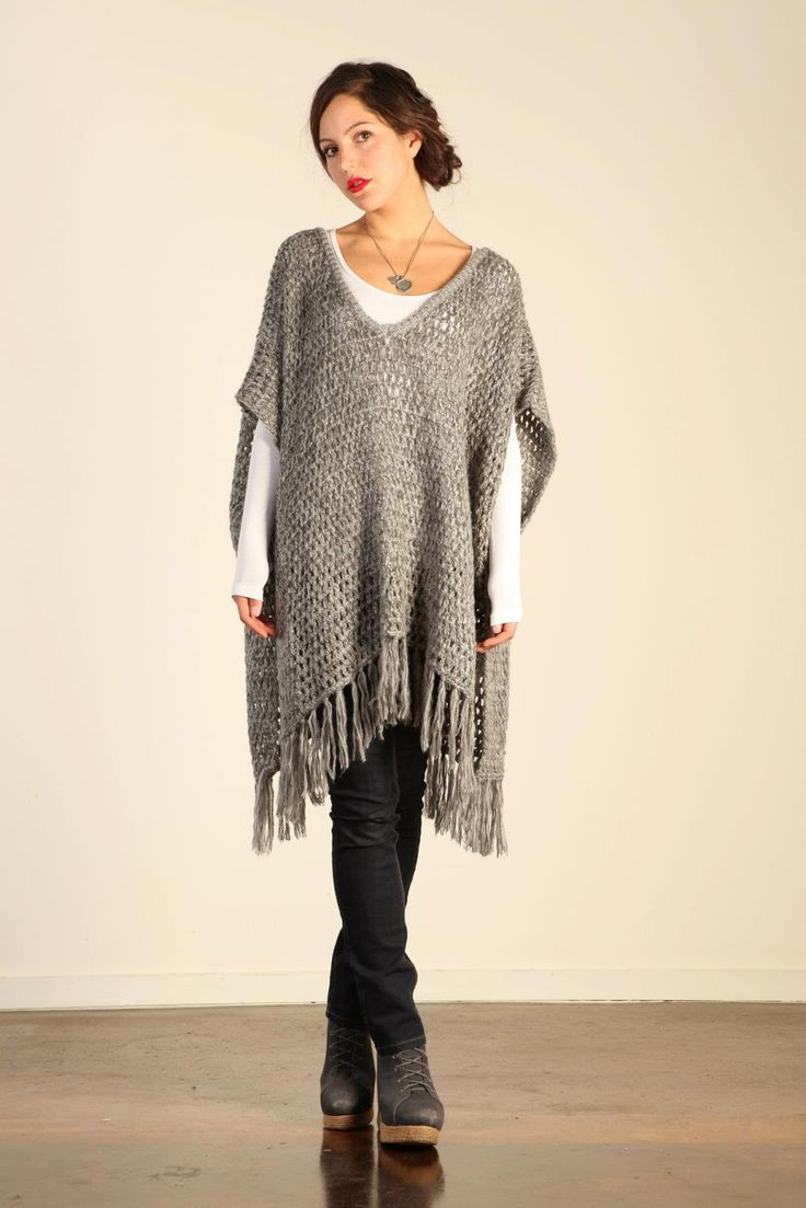Elegant 17 Best Images About Sueteres Ponchos Y Chales On Ponco Crochet Of Great 49 Images Ponco Crochet
