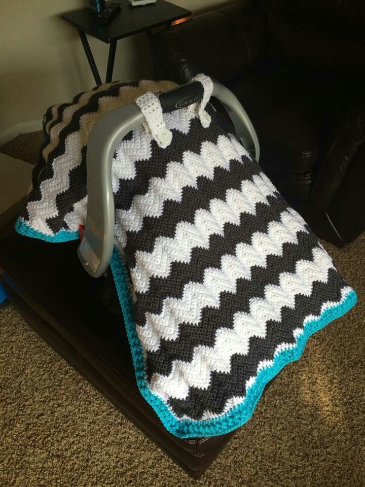 Elegant 18 Best Crochet 8 Baby Car Seat Blankets Free Patterns Seat Cover Pattern Of Superb 46 Photos Seat Cover Pattern