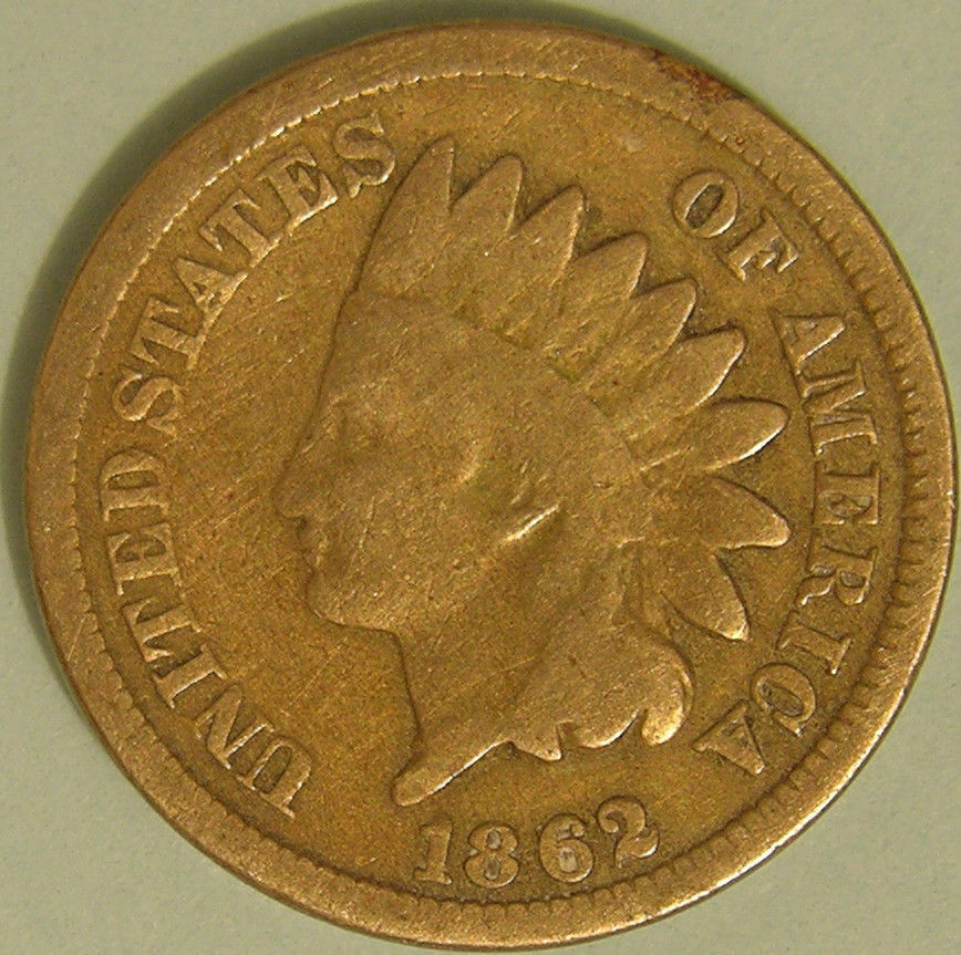 Elegant 1862 Indian Head Cent Ae 865 Indian Penny Value Of Delightful 40 Pics Indian Penny Value