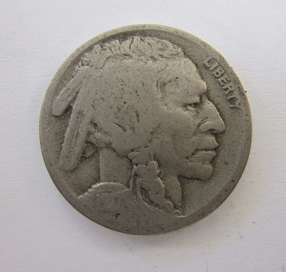 Elegant 1917 D Indian Head Buffalo Nickel Five Cents Us Buffalo Nickel Of Amazing 48 Ideas Us Buffalo Nickel
