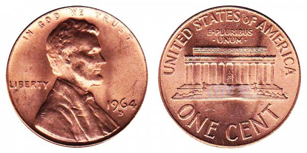 Elegant 1964 D Lincoln Memorial Cent Copper Alloy Penny Value and Lincoln Cent Values Of Amazing 50 Images Lincoln Cent Values