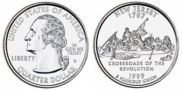 Elegant 1999 D New Jersey State Quarters Value and Prices New Quarters Worth Money Of Marvelous 42 Pics New Quarters Worth Money
