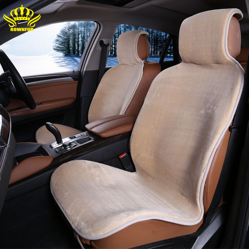 2 pc faux fur Front car Seat Cover and Full Covuniverseat