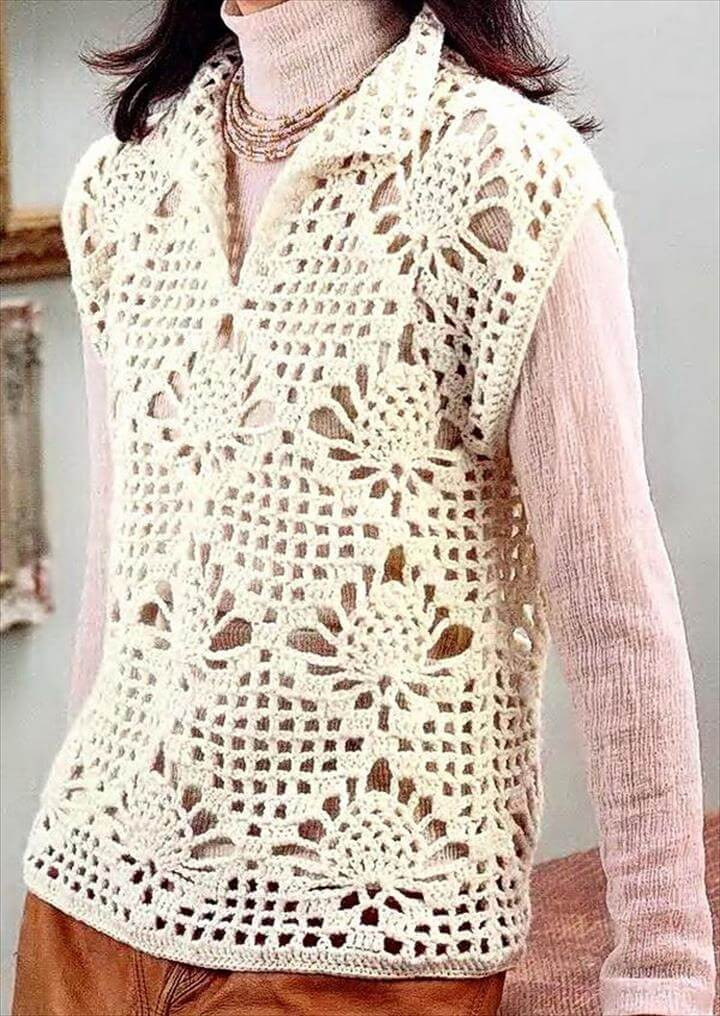 Elegant 20 Awesome Crochet Sweaters for Women S Crochet Pullover Of Top 47 Images Crochet Pullover