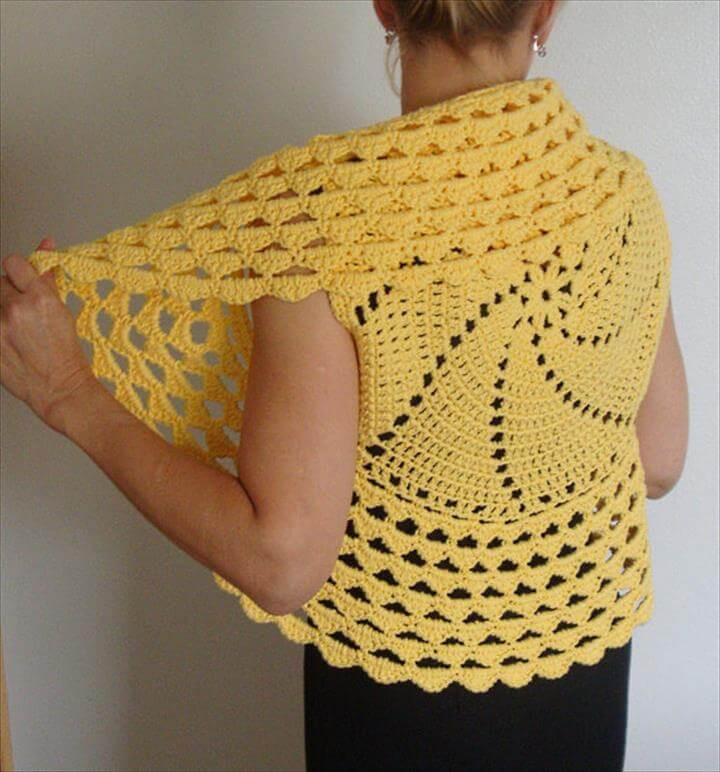 Elegant 20 Easy Beginner Shrug Pattern Free Crochet Shrug Pattern Of Adorable 47 Images Free Crochet Shrug Pattern