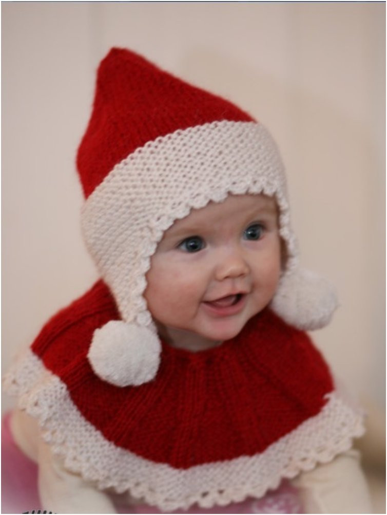Elegant 20 Free & Amazing Crochet and Knitting Patterns for Cozy Baby Christmas Hat Of Brilliant 46 Photos Baby Christmas Hat