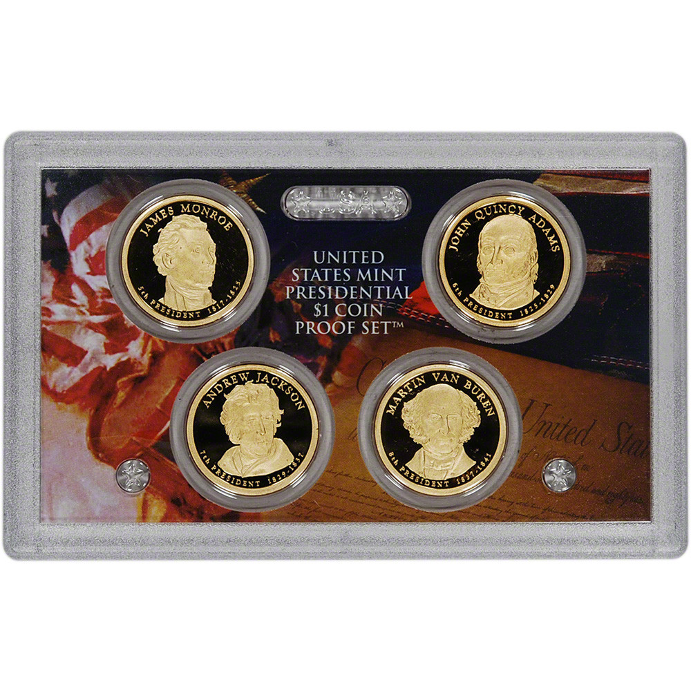 2008 US Mint Presidential $1 Coin Proof Set