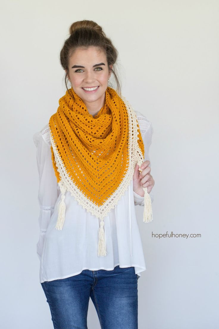 Elegant 25 Best Ideas About Crochet Triangle Scarf On Pinterest Triangle Scarf Pattern Of Top 49 Models Triangle Scarf Pattern