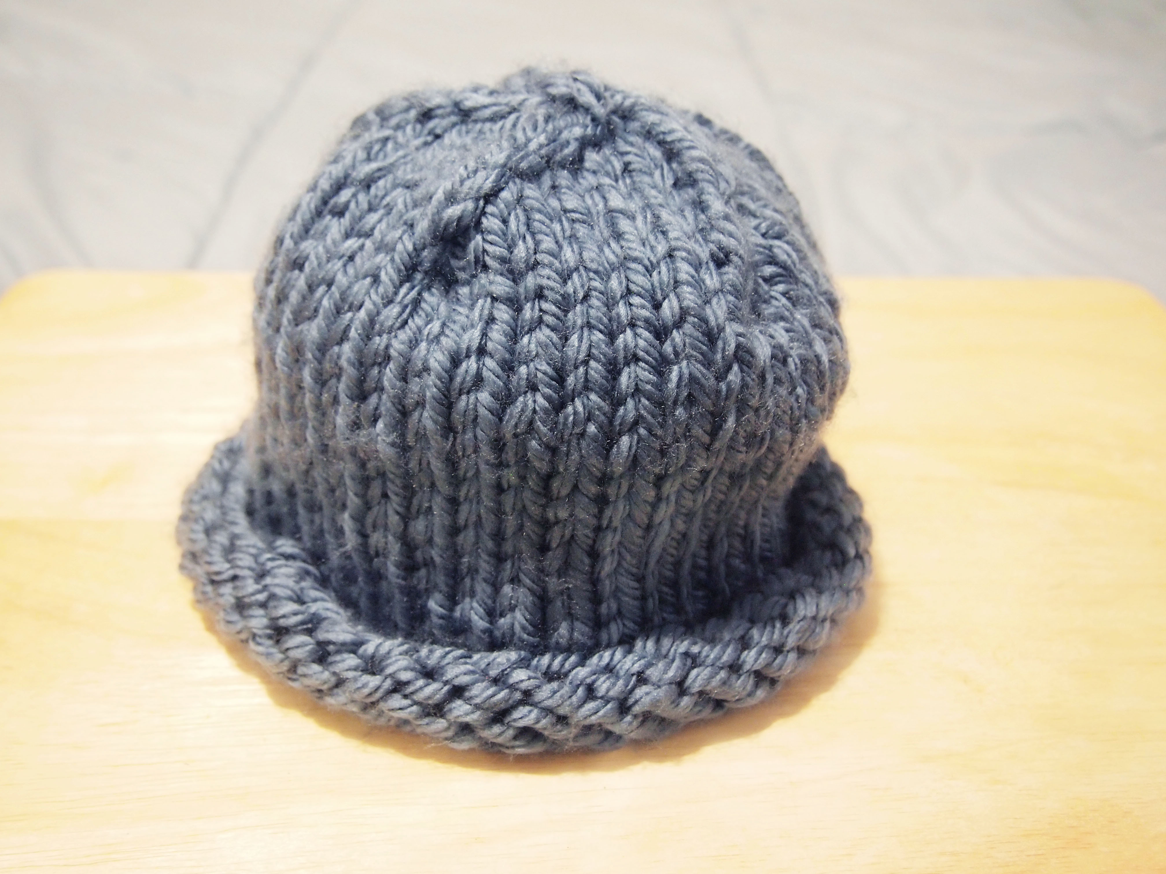 Elegant 3 Ways to Knit An Easy Hat Wikihow Easy Knit Hat Of Brilliant 47 Pictures Easy Knit Hat