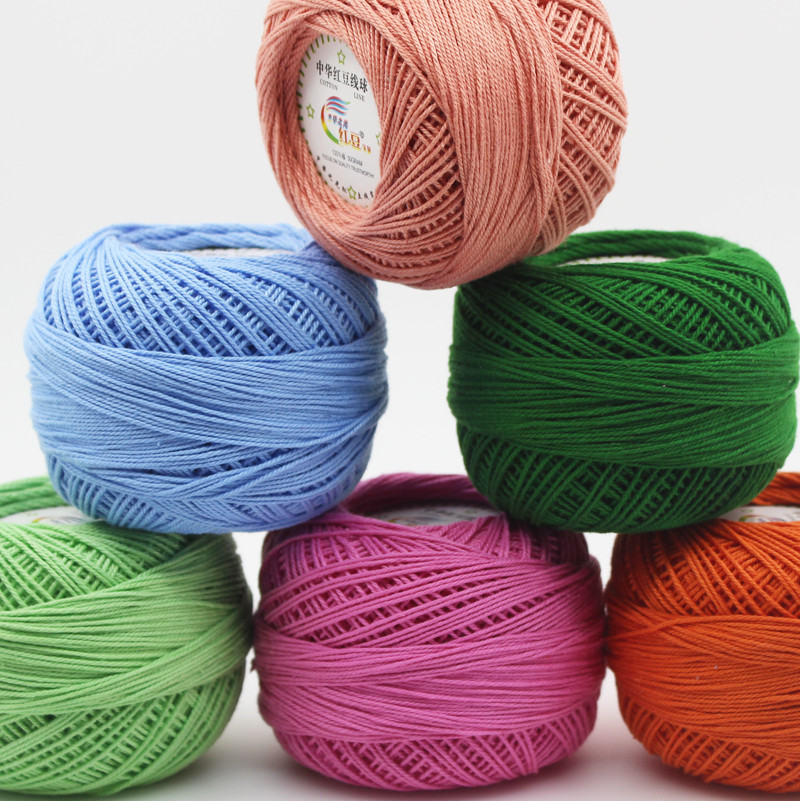 Elegant 300g Lot 3 Crochet Cotton Yarn Thin Yarn Lace Cotton Crochet Cotton Thread Of New 50 Pics Crochet Cotton Thread