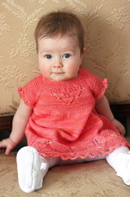Elegant 377 Best Images About Knitting All Dressed Up On Knitted Baby Dress Of Brilliant 49 Photos Knitted Baby Dress