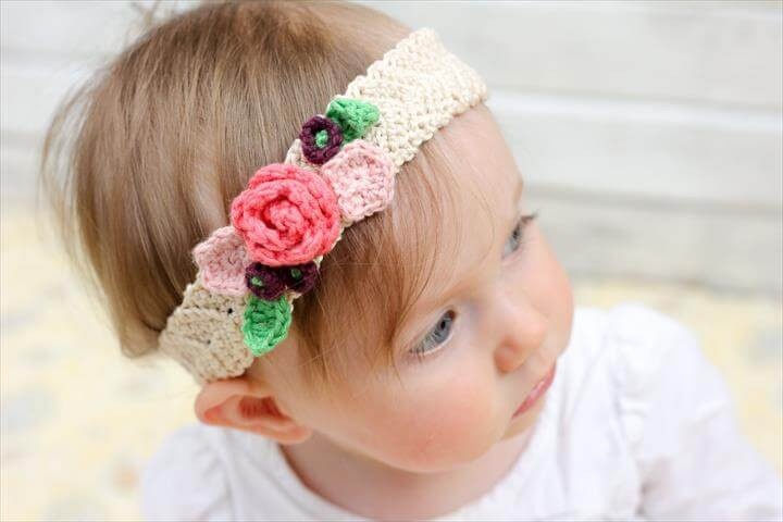 Elegant 42 Cute Crochet Flower Things Ideas Babies Crochet Headbands Of Awesome 49 Photos Babies Crochet Headbands