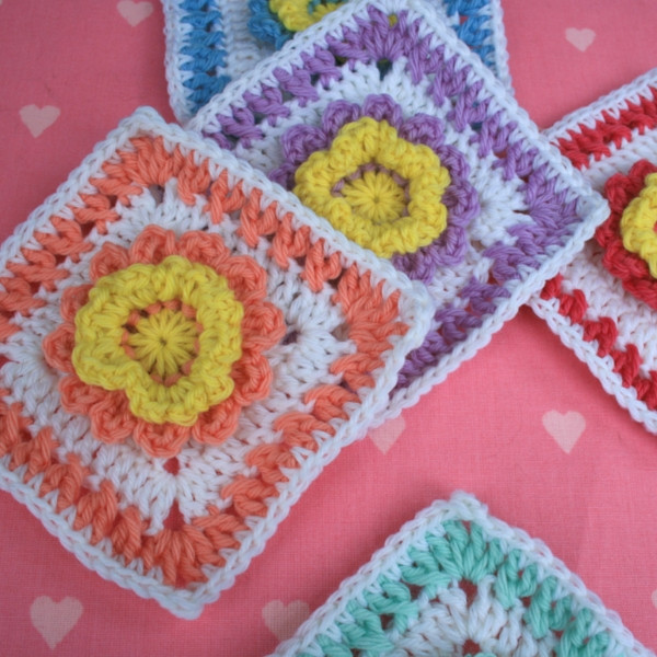 Elegant 6 Inch Square Crochet Pattern Pretty Flower Woolnhook Pretty Crochet Stitches Of Incredible 48 Pics Pretty Crochet Stitches