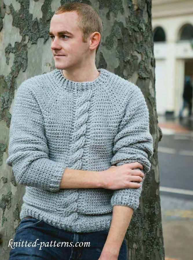 Elegant 62 Best Images About Crochet Men S Sweaters On Pinterest Crochet Mens Sweater Of Awesome 15 Crochet Men Sweater Patterns 2017 Crochet Mens Sweater
