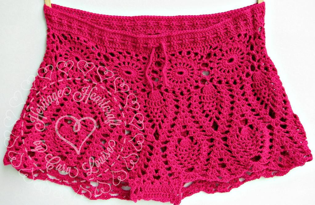 Elegant 7 Crochet Shorts and Skirt Patterns the Craftsy Blog Crochet Lace Shorts Of Unique 47 Photos Crochet Lace Shorts