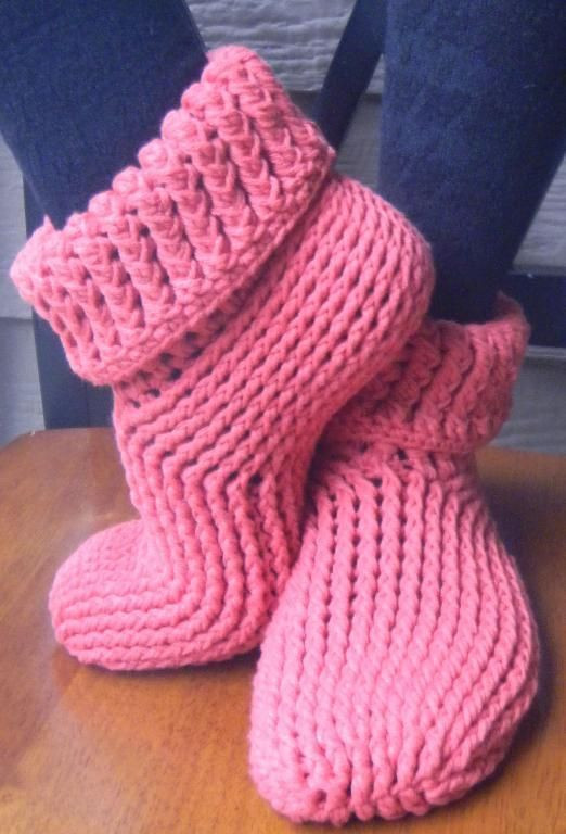 Elegant 78 Best Images About Crochet Slippers On Pinterest Knitted Booties for Adults Of Delightful 47 Images Knitted Booties for Adults