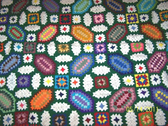 78 Best images about Crochet Stained Glass Afghans on