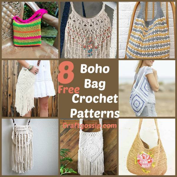 Elegant 8 Boho Festival Bags to Crochet – Crochet Boho Crochet Patterns Free Of Delightful 45 Photos Boho Crochet Patterns Free