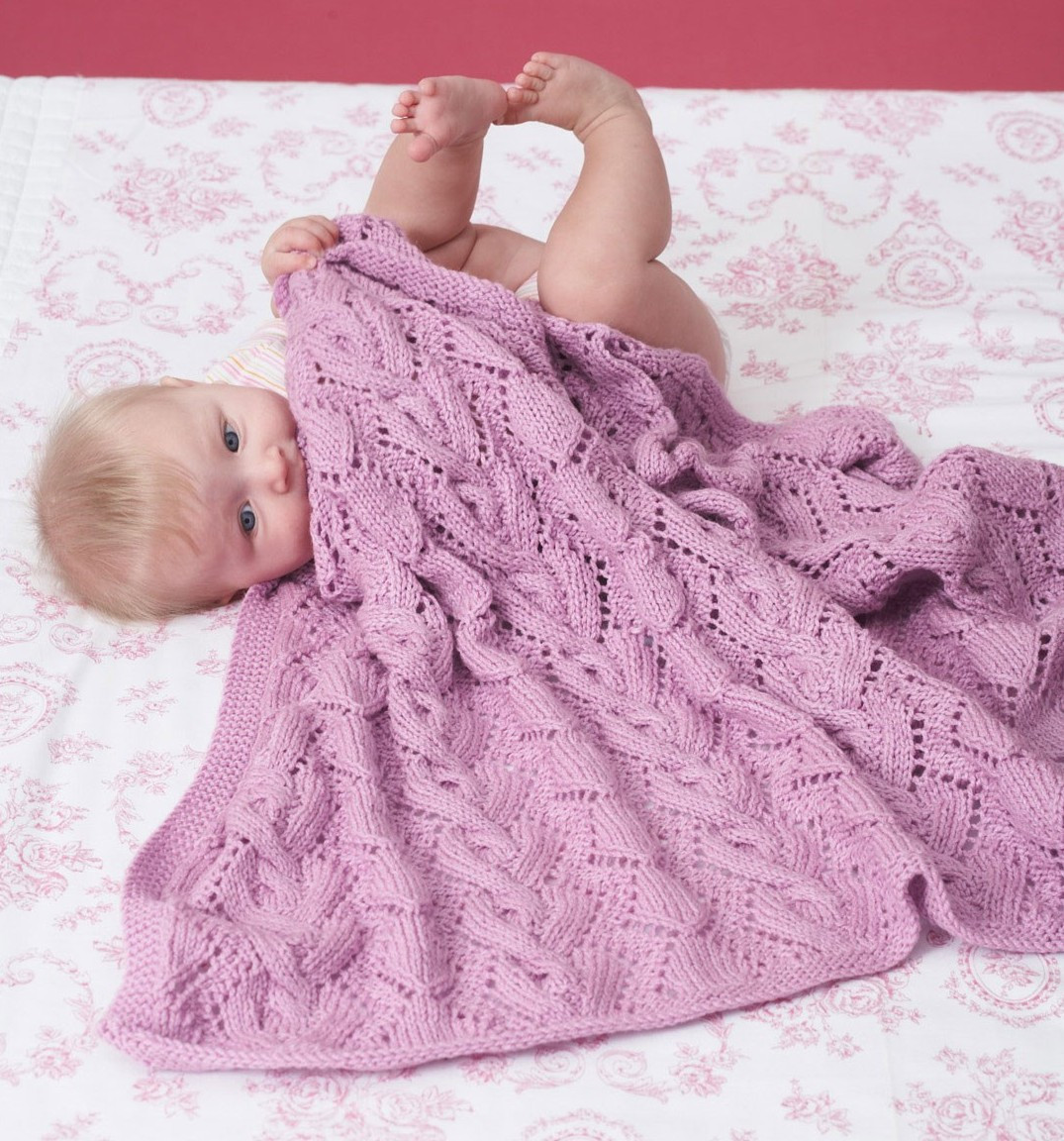 Elegant A some Baby Blanket Knitting Patterns Lace Blanket Of Great 41 Ideas Lace Blanket
