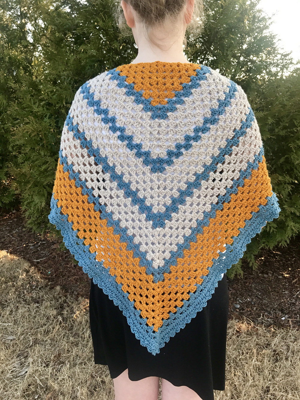 Elegant A Sunny Day Triangle Shawl Crochet Pattern by Little Quick and Easy Crochet Shawl Patterns Of Beautiful 50 Pics Quick and Easy Crochet Shawl Patterns