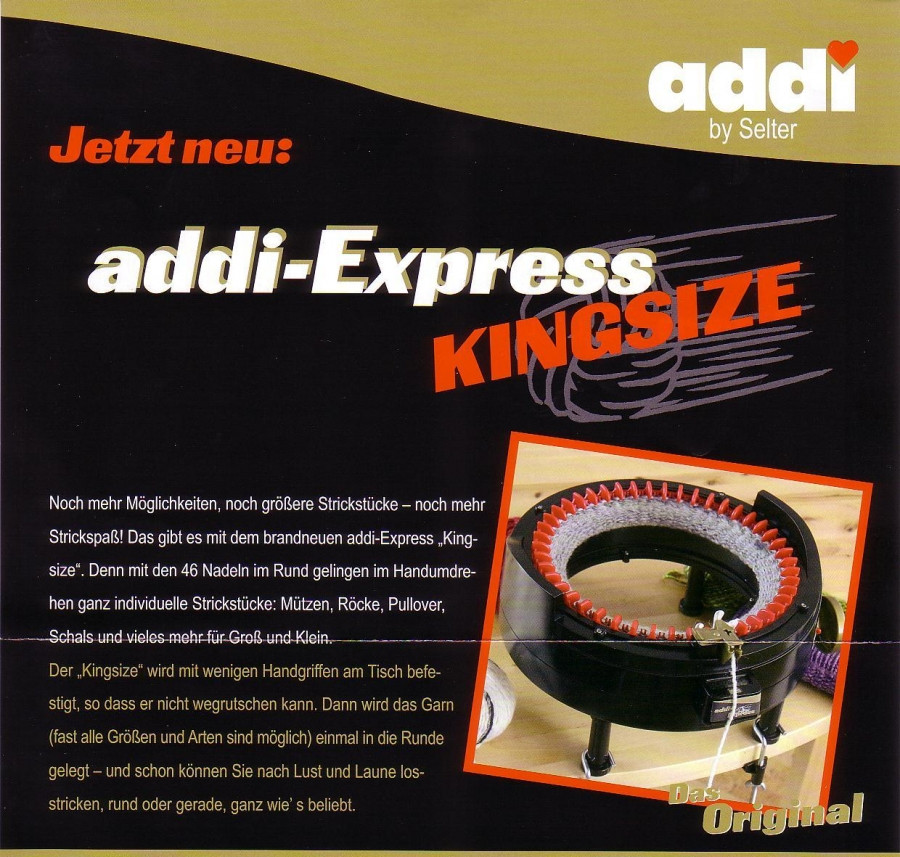 Elegant Addi Express Kingsize 890 2 Addi Express Knitting Machine Of Innovative 45 Photos Addi Express Knitting Machine