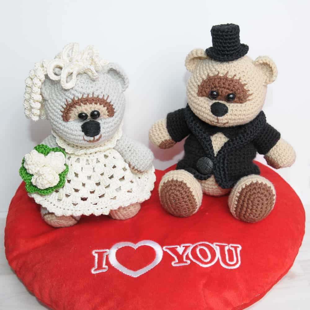 Elegant Amigurumi Wedding Bears Crochet Pattern Amigurumi today Free Crochet Of Contemporary 42 Ideas Free Crochet