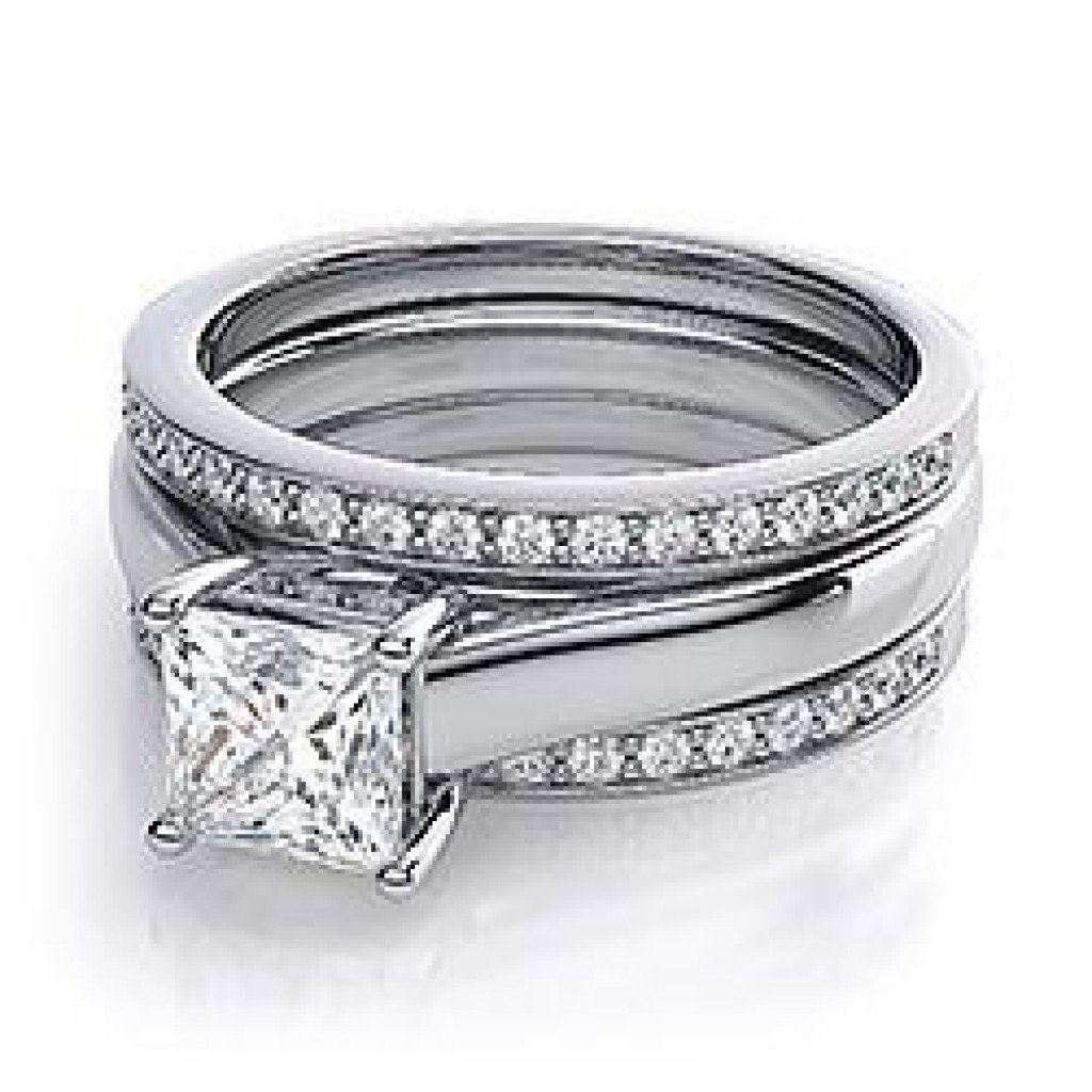 Elegant Awesome Double Band Wedding Band Styles & Ideas Double Wedding Ring Of Perfect 40 Photos Double Wedding Ring