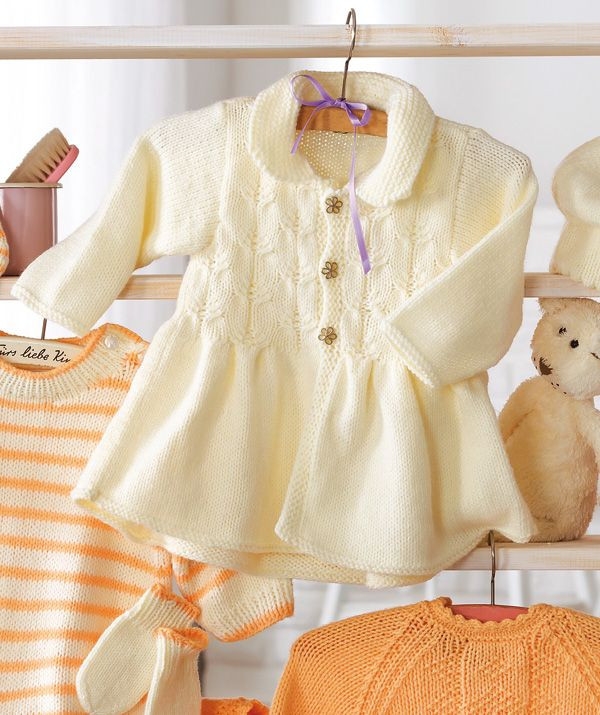 Baby and Toddler Sweater Knitting Patterns