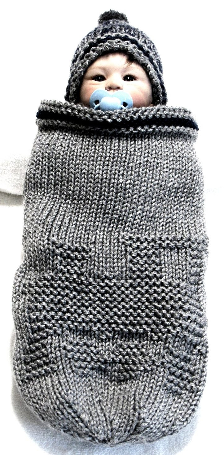 Elegant Baby Cocoon Snuggly Sleep Sack Wrap Knitting Patterns Knitted Baby Cocoon Of Marvelous 42 Photos Knitted Baby Cocoon