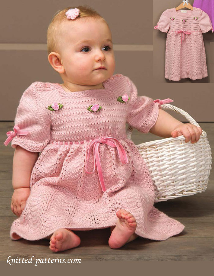 Elegant Baby Girl Dress Knitting Pattern Free Baby Girl Knitted Dress Of Incredible 47 Photos Baby Girl Knitted Dress