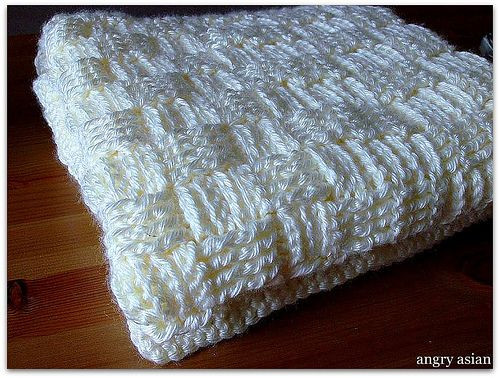 Elegant Basket Weave Crocheted Baby Blanket with Link to A Pattern Basket Weave Crochet Baby Blanket Of Brilliant 46 Photos Basket Weave Crochet Baby Blanket