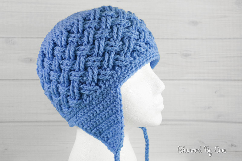 Beginner Crochet Patterns Free Earflap Hat Dancox for
