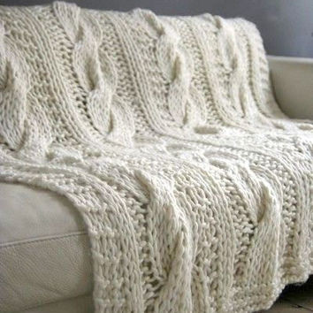 Elegant Best Chunky Cable Knit Blanket Products On Wanelo Chunky Cable Knit Throw Of New 48 Images Chunky Cable Knit Throw