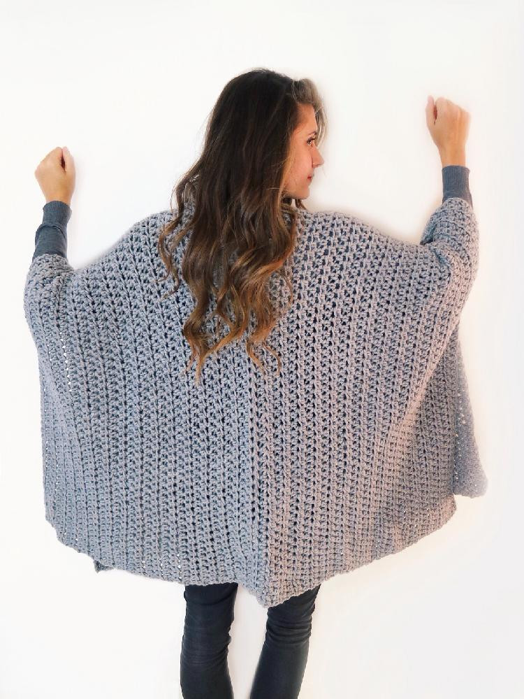Elegant Blanket Ruana Poncho Crochet Pattern by Two Of Wands Free Crochet Ruana Pattern Of Amazing 46 Ideas Free Crochet Ruana Pattern