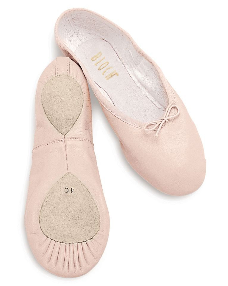 Elegant Bloch Dansoft Split sole Leather Ballet Slipper Child Leather sole Slippers Of Fresh 46 Models Leather sole Slippers