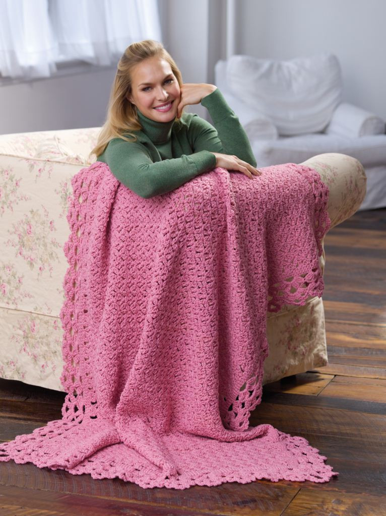 Elegant Blush Rose Afghan Red Heart Free Crochet Afghan Patterns Of Great 49 Ideas Red Heart Free Crochet Afghan Patterns