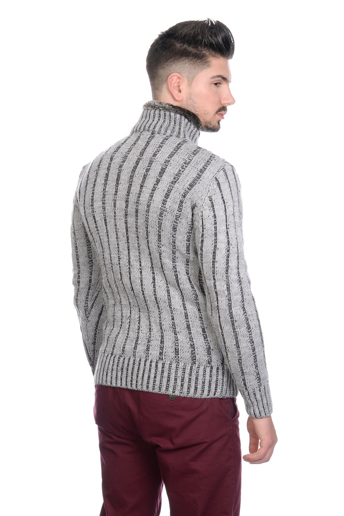 BNWT Mens Designer Cable Knit Jumper Cardigan Sweater with
