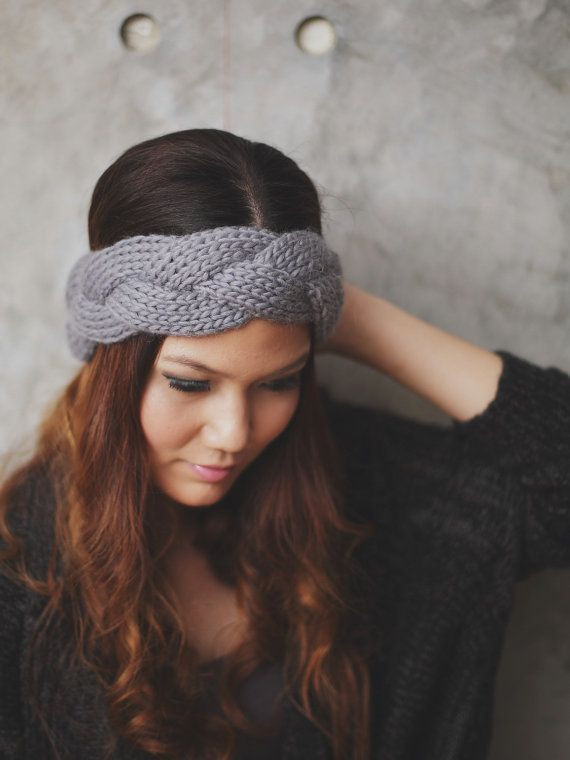 Elegant Braided Grey 100 Percent Wool Yarn Knit Headband Head Braided Knit Headband Of Amazing 42 Pics Braided Knit Headband