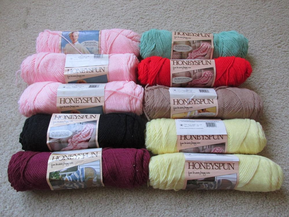 Elegant Brand New Vintage Caron Brand Yarn Honeyspun Skeins Caron Yarn Colors Of Attractive 45 Pictures Caron Yarn Colors