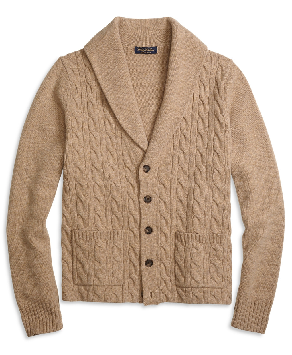 Elegant Brooks Brothers Saxxon Wool Shawl Collar Cable Cardigan In Mens Cable Cardigan Of Top 48 Pics Mens Cable Cardigan