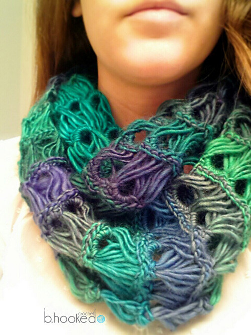 Elegant Broomstick Lace Infinity Scarf B Hooked Crochet Broomstick Crochet Of Amazing 44 Pics Broomstick Crochet