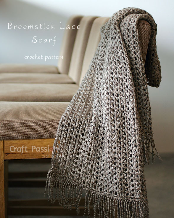 Elegant Broomstick Lace Scarf Free Crochet Pattern Crochet Lace Patterns for Beginners Of Gorgeous 47 Pictures Crochet Lace Patterns for Beginners