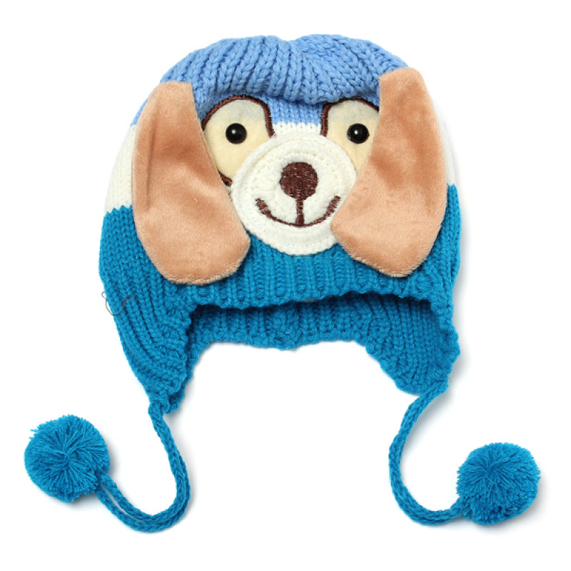 Elegant Buy Baby Children Dog Cartoon Knitted Cap Ear Flap Beanie Knitted Dog Hats Of Innovative 49 Images Knitted Dog Hats