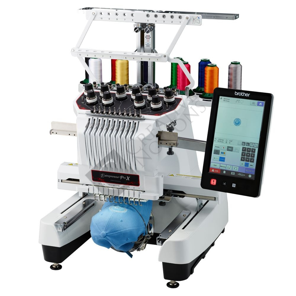 Elegant Buy the Brother Pr 1050x 10 Needle Embroidery Machine Line Custom Embroidery Machine Of Awesome 42 Ideas Custom Embroidery Machine
