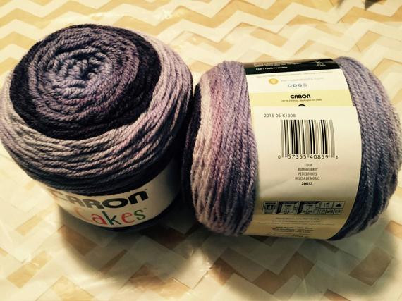 Caron cakes in color bumbleberry