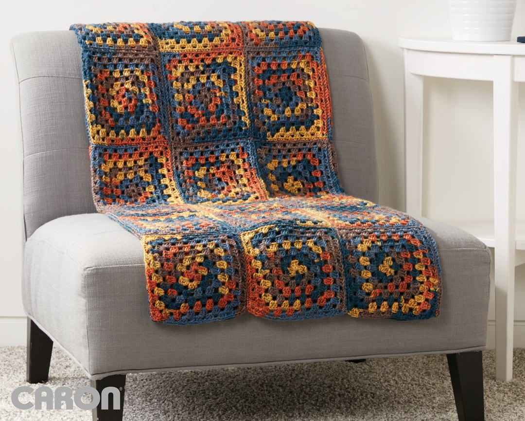 Elegant Caron Square Deal Blanket Crochet Pattern Caron Simply soft Variegated Yarn Of Marvelous 46 Ideas Caron Simply soft Variegated Yarn
